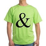 325c. &. .  Green T-Shirt