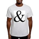 325c. &. .  Ash Grey T-Shirt