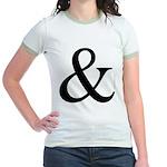 325c. &. .  Jr. Ringer T-Shirt