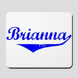 Brianna Vintage (Blue) Mousepad