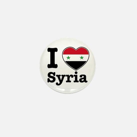 I love Syria Mini Button