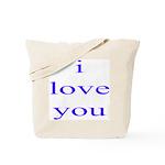 315. i love you. . Tote Bag