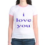 315. i love you. . Jr. Ringer T-Shirt