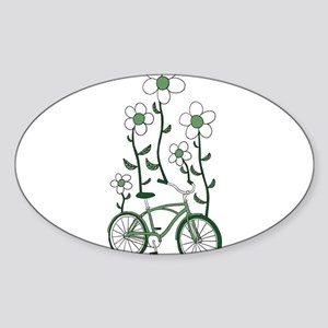 Flower Bike Sticker