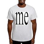325. me Ash Grey T-Shirt