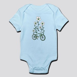 Flower Bike Body Suit
