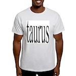 309. taurus.. Ash Grey T-Shirt