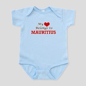 My Heart Belongs to Mauritius Body Suit