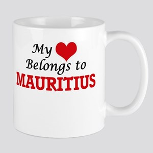 My Heart Belongs to Mauritius Mugs