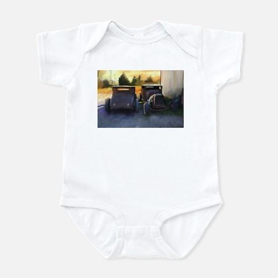 Old Chopped Hot Rods Infant Bodysuit