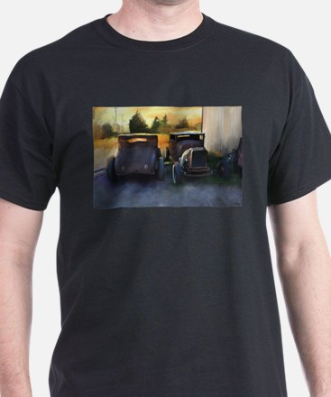 Old Chopped Hot Rods T-Shirt