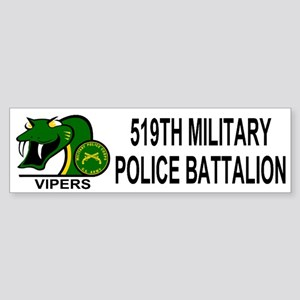 519th MP Battalion <BR>Bumper Sticker