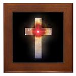 Celestial Cross Framed Tile