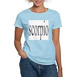 309. scorpio Women's Pink T-Shirt