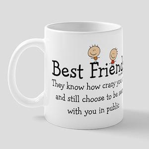 Best Friends Mugs - CafePress