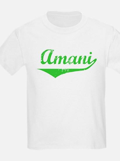 Amani Vintage (Green) T-Shirt