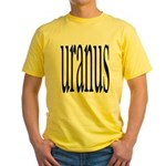 309. uranus Yellow T-Shirt
