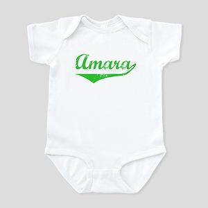 Amara Vintage (Green) Infant Bodysuit
