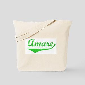 Amare Vintage (Green) Tote Bag