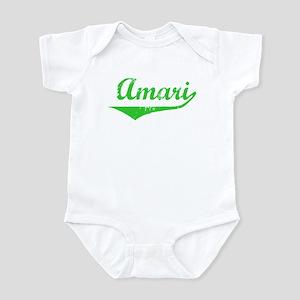 Amari Vintage (Green) Infant Bodysuit