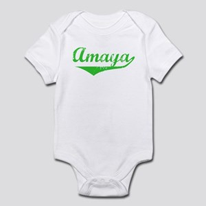 Amaya Vintage (Green) Infant Bodysuit