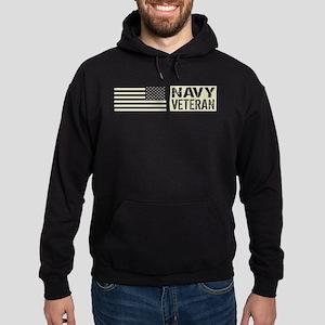 U.S. Navy: Veteran (Black Flag) Hoodie (dark)