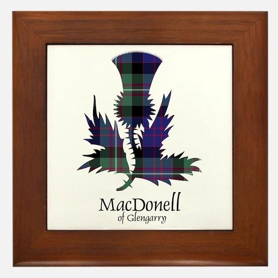 Thistle-MacDonellGlengarry Framed Tile