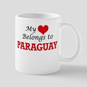 My Heart Belongs to Paraguay Mugs