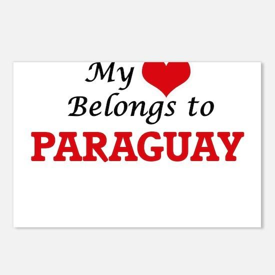 My Heart Belongs to Parag Postcards (Package of 8)
