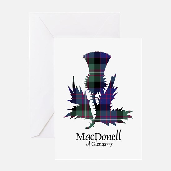 Thistle-MacDonellGlengarry Greeting Card