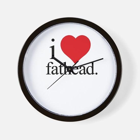 Anti Heart Fathead Wall Clock