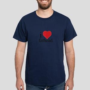 Anti Heart Fathead Dark T-Shirt