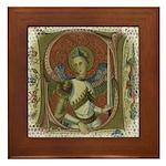 Gothic Angel Framed Tile