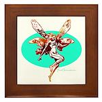 Fire Fairy Framed Tile