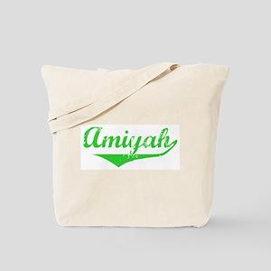 Amiyah Vintage (Green) Tote Bag