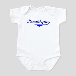 Brooklynn Vintage (Blue) Infant Bodysuit