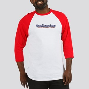 National Sarcasm Society Baseball Jersey