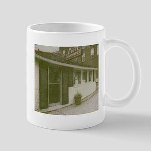 hut photo Mugs