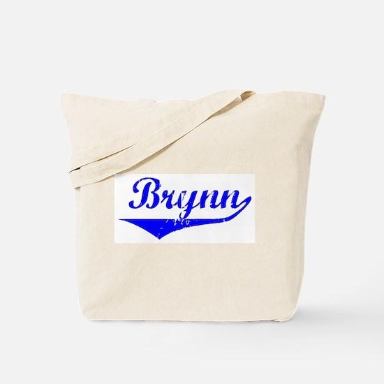 Brynn Vintage (Blue) Tote Bag