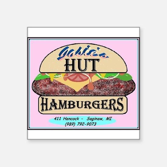 Burger Logo Sticker