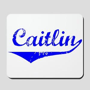 Caitlin Vintage (Blue) Mousepad