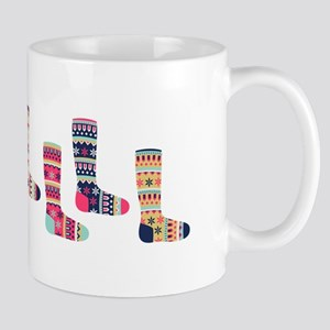 Faire Isle Socks Mugs