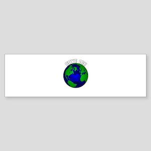 Save Me Bumper Sticker