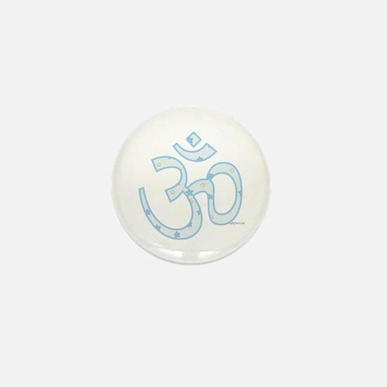 Cute Om symbol Mini Button