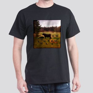 Bull With Herd Of Cats T-Shirt