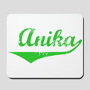 Anika Vintage (Green) Mousepad