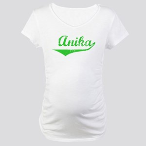 Anika Vintage (Green) Maternity T-Shirt