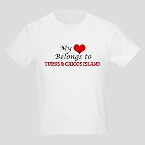 My Heart Belongs to Turks & Caicos Island T-Shirt
