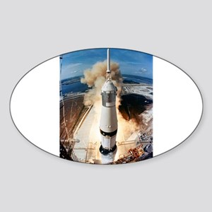 Apollo 11 launch Sticker