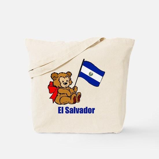 El Salvador Teddy Bear Tote Bag